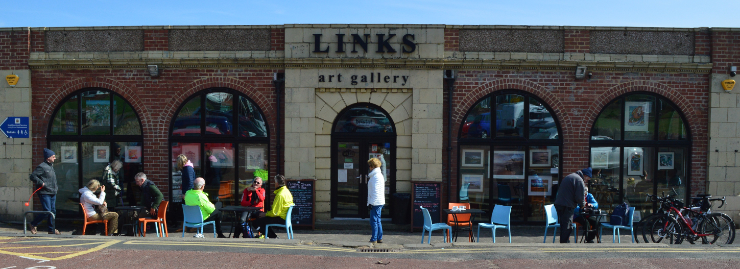 About The Links Art Gallery Whitley Bay